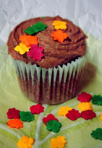 Free Crazy Autumn Colorful Cupcake Creative Commons