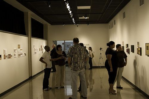 gallery opening