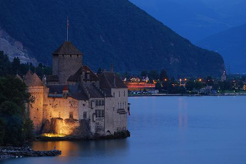 The Chillon Castle (Château de Chillon), por Fawaz Al-Arbash
