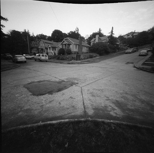Pinhole Intersection, por Audin