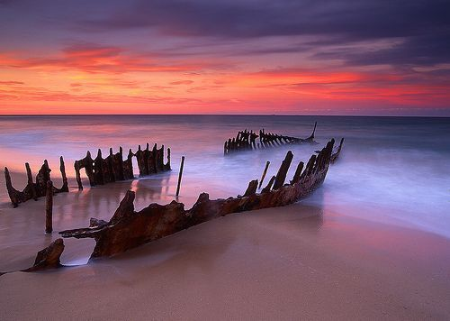 Dicky Wreck QLD, por Mark Wassell