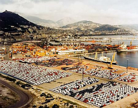 Andreas Gursky Salerno, 1990
